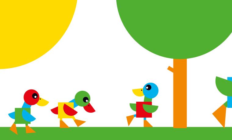 La promenade des canards