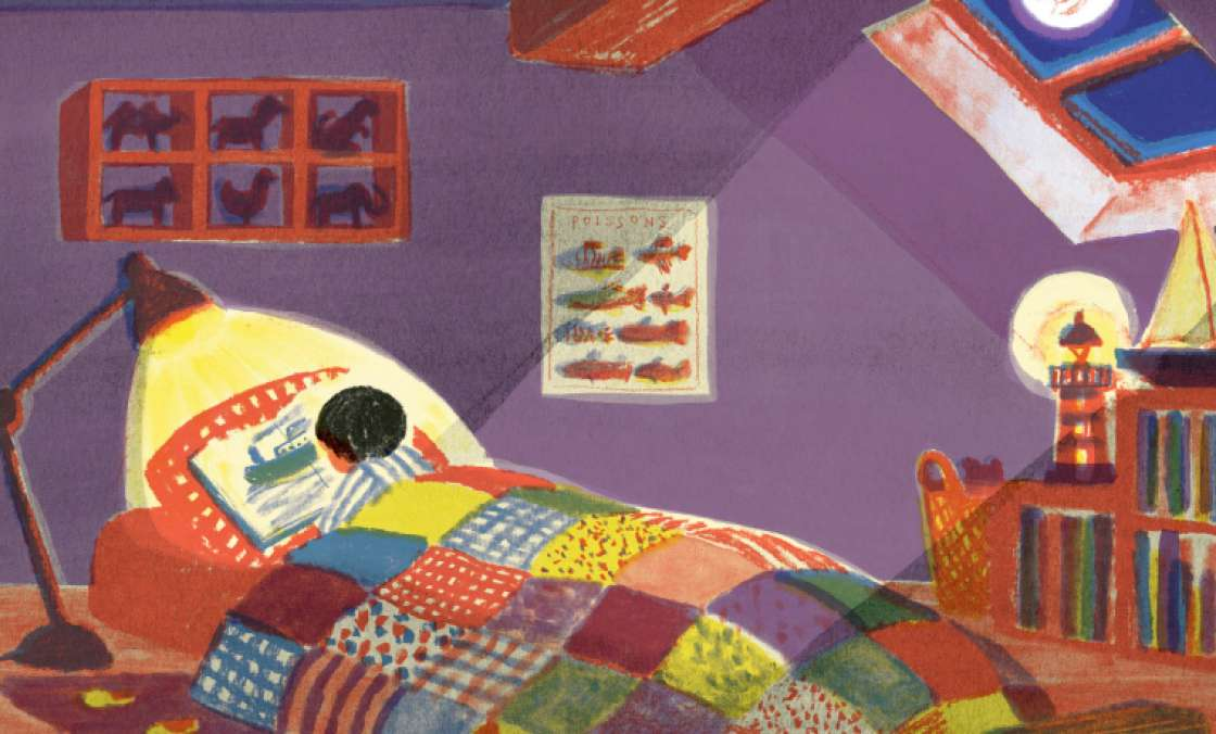 La biennale des illustrateurs de Moulins expose Fanette Mellier et Junko Nakamura