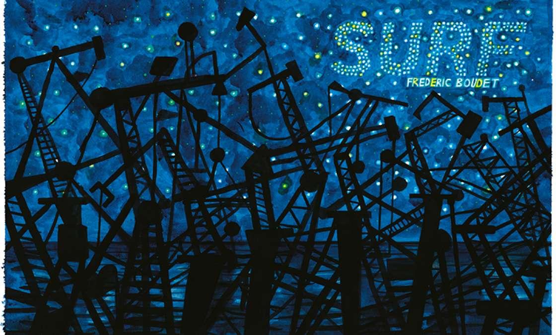 Surf, de Frédéric Boudet, sélectionné pour le prix Vendredi
