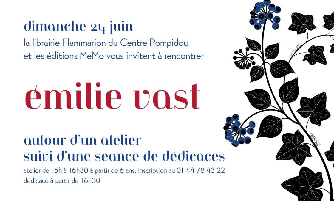 Émilie Vast au Centre Pompidou