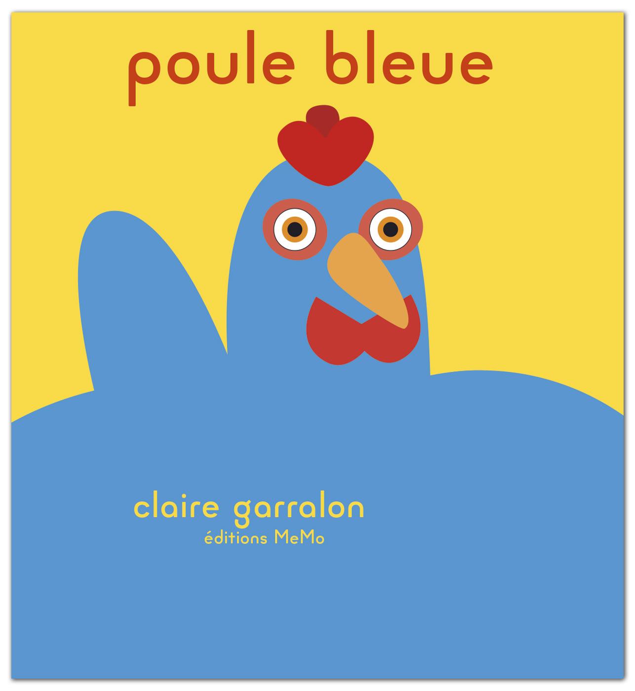 Poule bleue